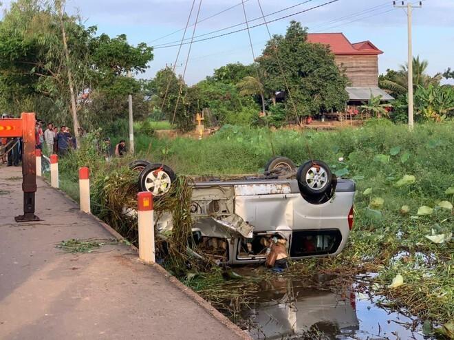 Tai nạn giao thông nghiêm trọng ở Campuchia khiến 6 người Việt thiệt mạng