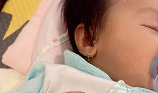 Đàm Thu Trang dần hé lộ gương mặt của con gái, ai cũng khen giống Cường Đô La ở điểm này
