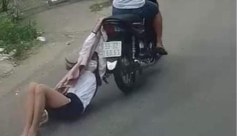 Tên cướp điện thoại, kéo lê cô gái hàng chục mét trên đường đã bị bắt