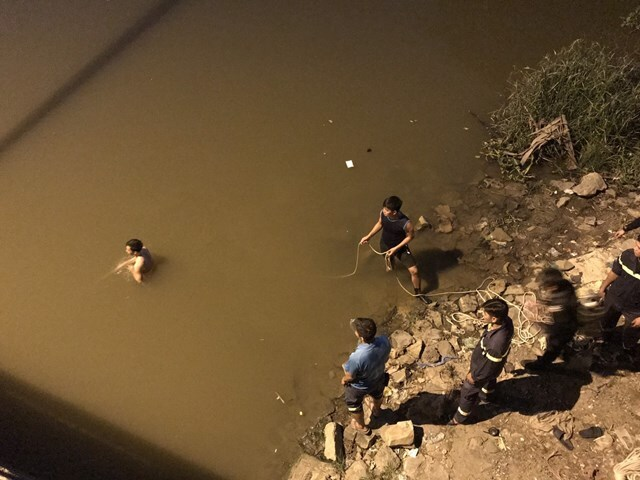 Đã tìm thấy thi thể thanh niên nhảy cầu tự tử