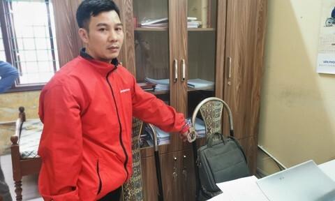 Thanh niên Vĩnh Phúc đột nhập huyện ủy trộm hàng trăm triệu đồng