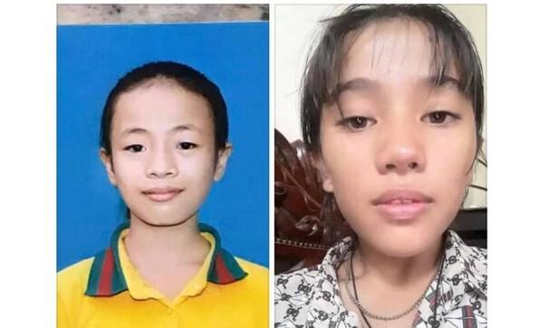 Hai nữ sinh lớp 7 ở Nghệ An mất tích đã được cảnh sát Thanh Hóa đưa về nhà
