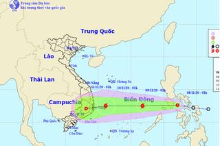 Áp thấp nhiệt đới mới khả năng mạnh lên thành bão số 12, tiến vào miền Trung