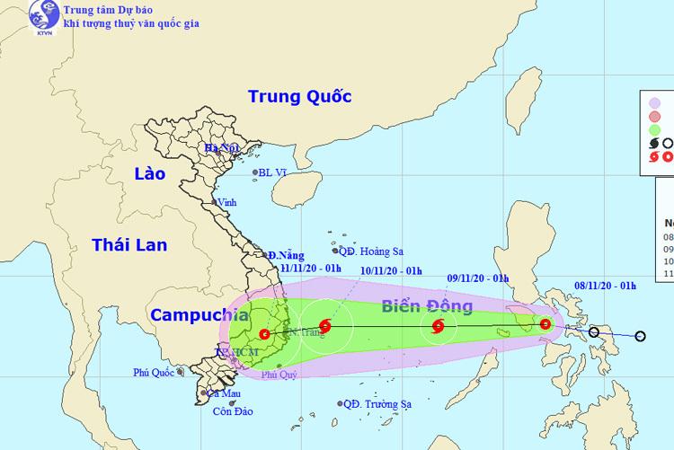 Áp thấp nhiệt đới mới khả năng mạnh lên thành bão, tiến vào miền Trung