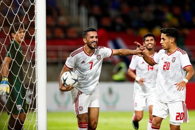 UAE sử dụng nhiều cầu thủ ngoại ở vòng loại World Cup