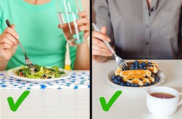 Có nên uống nước trong khi ăn