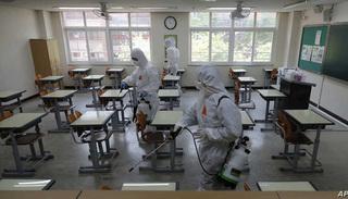 Campuchia và Hàn Quốc đóng cửa các trường học vì Covid-19