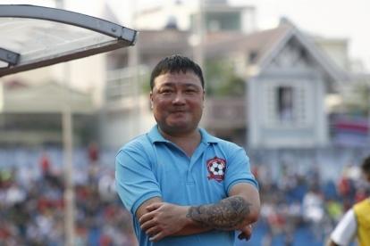 HLV Trương Việt Hoàng sung sướng với chức vô địch của Viettel