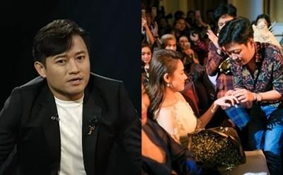 Quý Bình bất ngờ nhắc lại màn cầu hôn ồn ào của Trường Giang với Nhã Phương năm 2017