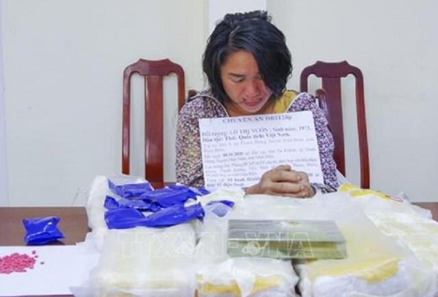 Người phụ nữ vận chuyển thuê gần 50 nghìn viên ma túy tổng hợp