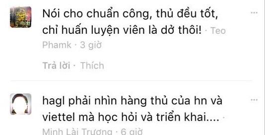 CLB HAGL cần học hỏi Viettel và Hà Nội FC ở V.League