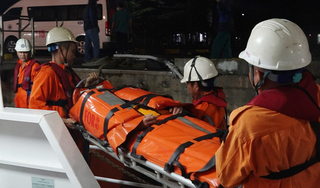 Đã thấy thi thể thuyền trưởng tàu hàng chìm trên biển Quảng Nam