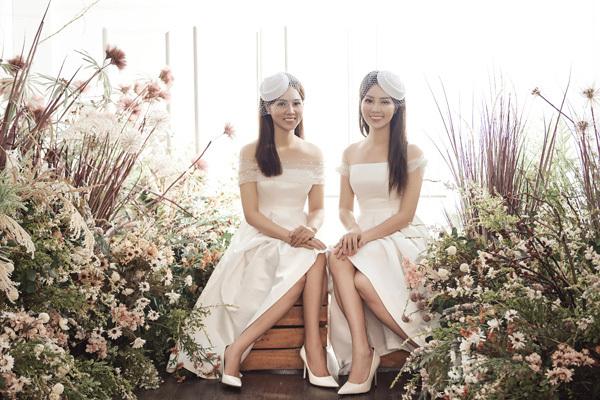 Người đẹp Ngọc Hà – bạn gái NSND Công Lý và Á hậu Thuỵ Vân vốn là chị em họ nên được nhiều người nhận xét có nhan sắc khá giống nhau.