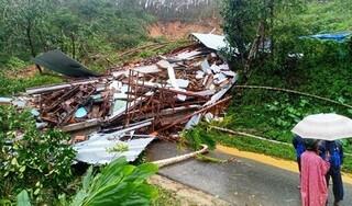 Lở núi ở Quảng nam vùi lấp ngôi nhà, 1 người phụ nữ tử vong