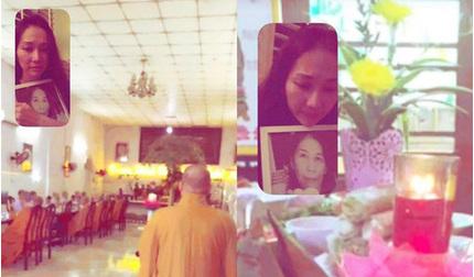 Xót xa hình ảnh Kim Hiền ôm di ảnh mẹ bật khóc