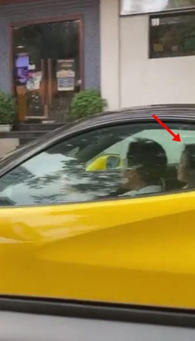 Lộ clip thiếu gia Phan Thành chở cô gái bí ẩn trên siêu xe, dân tình liên tục réo tên Midu