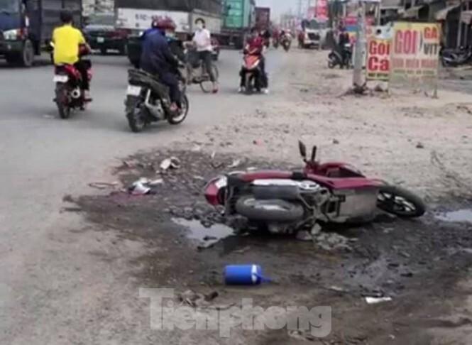 Xe bồn cán tử vong nữ công nhân trên đường đến công ty
