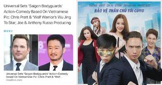 Phim do bạn trai Hồ Ngọc Hà sản xuất được Hollywood remake