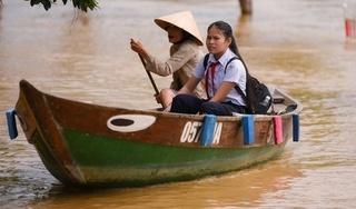 Học sinh TP Hội An nghỉ học để phòng tránh lũ
