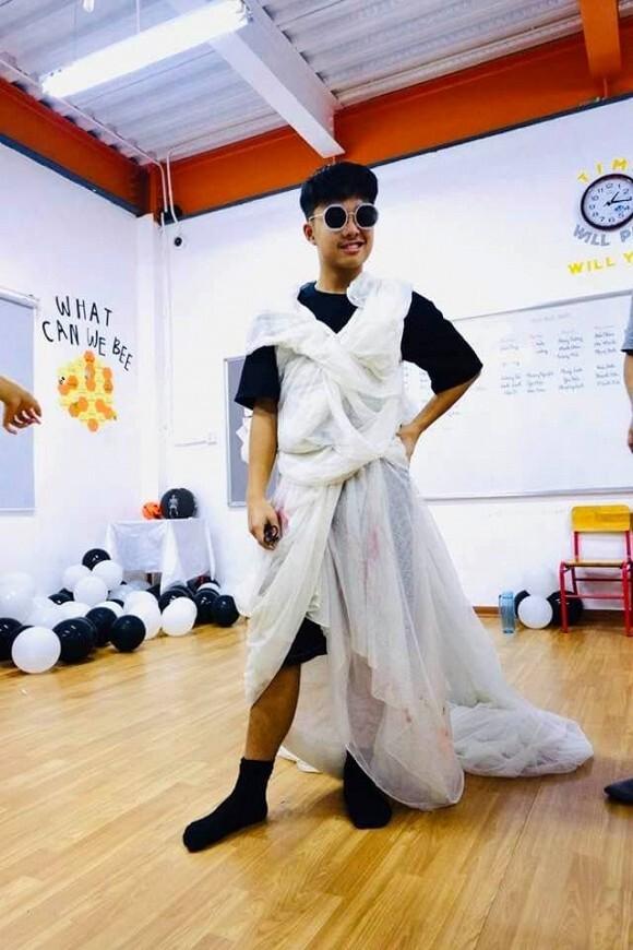 MC Thảo Vân khoe ảnh con trai trình diễn thời trang khiến NS Công Lý 'sốc'