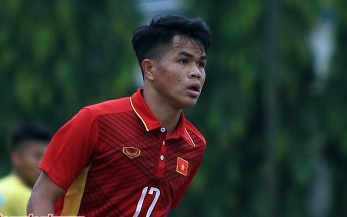 Dụng Quang Nho chấn thương chưa thể tập luyện cùng U22 Việt Nam