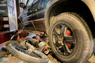 Nam tài xế khai nguyên nhân lái ô tô tông hàng loạt xe máy tại Gò Vấp