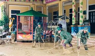 Gần 500 học sinh ở Quảng Trị vẫn chưa được trở lại trường sau lũ
