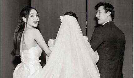 Sự thật về bức ảnh Nhan Phúc Vinh bí mật làm đám cưới