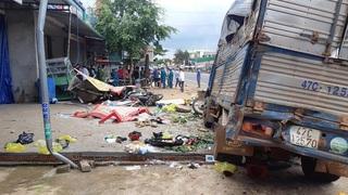 Kết luận vụ xe tải lao vào chợ khiến 6 người tử vong thương tâm