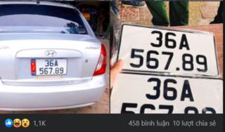 Chủ xe Hyundai 'số đỏ' bốc được biển 56789