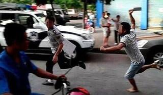 Nhóm công nhân chặn đường chém 'sếp' nguy kịch