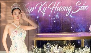 Cận cảnh chiếc vương miện của Hoa hậu Việt Nam 2020 với những con số gây 'choáng'