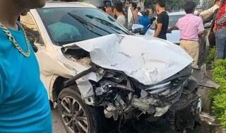 Bị truy đuổi, ô tô bỏ chạy gặp tai nạn khiến 3 người thương vong