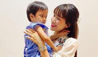 Hòa Minzy tiếp tục kêu gọi quyên góp để chữa bênh xơ gan cho con nuôi
