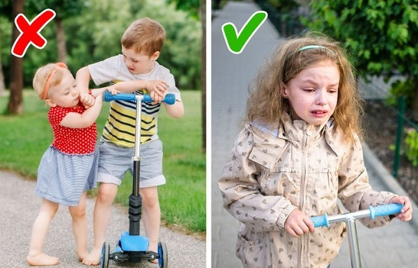 Những lợi ích tuyệt vời từ việc trẻ con khóc