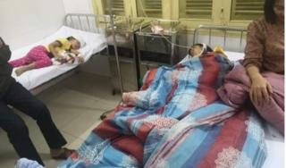 Bố chồng đánh con dâu và 2 cháu nhập viện cấp cứu