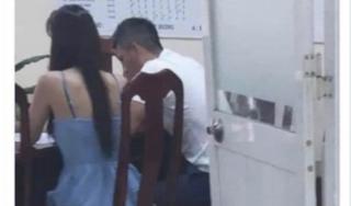 Thực hư bức ảnh vợ chồng Thủy Tiên - Công Vinh làm việc với công an sau drama antifan