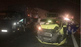 Tai nạn liên hoàn giữa 6 ô tô, cao tốc Trung Lương kẹt cứng hơn 10 km