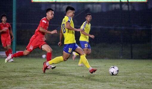 U22 Việt Nam giành chiến thắng ấn tượng trước tuyển trẻ Nam Định