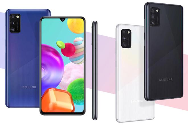 Lộ diện điện thoại 5G rẻ nhất của Samsung.1