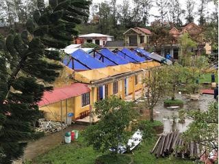 Bão số 13 khiến 6 ngôi nhà bị sập, 5.755 nhà bị hư hại, tốc mái
