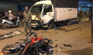 Va chạm trực diện với xe tải, người đi xe máy tử vong tại chỗ