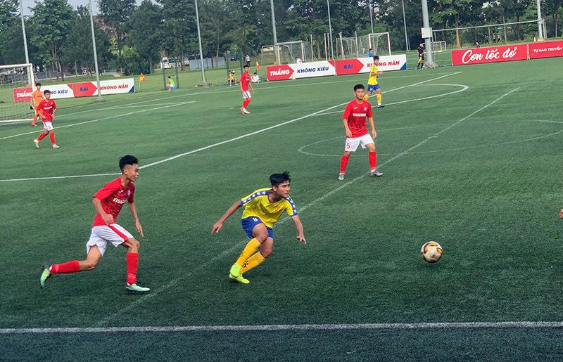 Nam Định để thua đối thủ kỵ rơ ở giải đấu mới của VFF