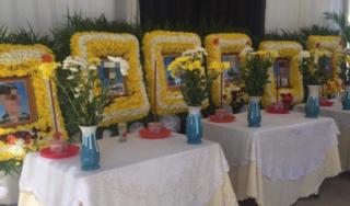 Đưa thi hài 6 nạn nhân Việt Nam gặp nạn ở Campuchia về nước an táng