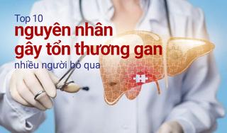 Top 10 nguyên nhân gây tổn thương gan nhiều người bỏ qua