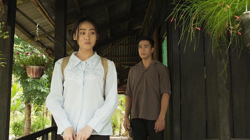 'Hot girl xứ võ' sánh đôi cùng 'hot boy nổi loạn' trong phim 'Đường về Cồn Nảy'