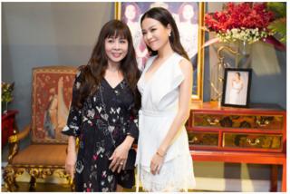 Hoàng Thùy Linh kể lại thuở mẹ tỉ mẩn ngồi khâu đồ diễn cho con gái