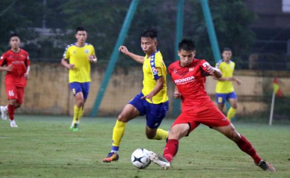 U21 Nam Định sẵn sàng cho giải vô địch quốc gia 2020