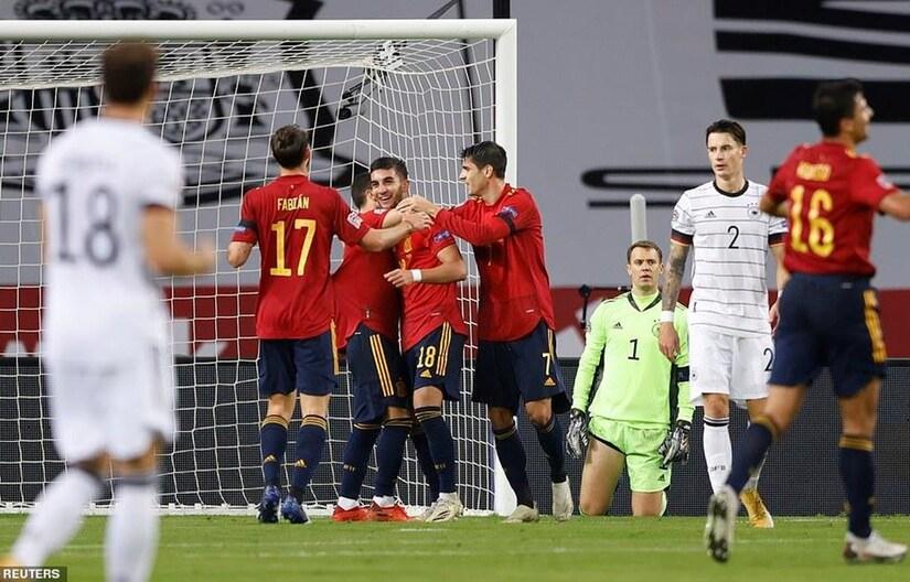 Tây Ban Nha hủy diệt Đức