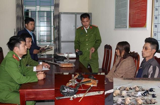Đôi nam nữ ở Hà Nam thực hiện trót lọt 50 vụ trộm chó